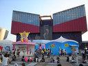海遊館のある天保山ハーバービレッジは「わくわく宝島」で大賑わい