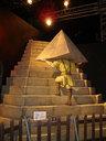 頂を背に聖帝十字稜を登るシュウ