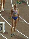 女子400m障害準決勝に出場した世界記録保持者 ユリア・ぺチョンキナ