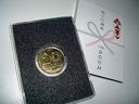 入場時に配られた記念メダル