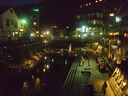 夜の春来川