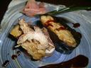 フォアグラの変わり寿司