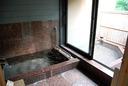 専用の内湯と露天風呂