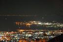 バルコニーから見える夜景