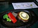 特選但馬牛のステーキ