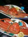 酢物 浜坂産松葉蟹姿盛り
