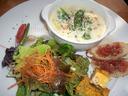 「MMC」のスープ&サラダランチ
