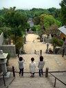 神呪寺の石段