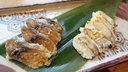 珍しい鮎の熟れ寿司