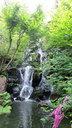 八岐大蛇をイメージしたという「竜渓滝」