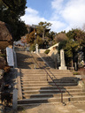 神呪寺から登る