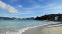 大村海岸の海は碧い