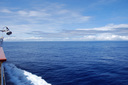 海は青さを増してきた