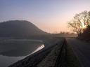甲山と北山ダム