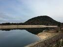 工事の準備で水を抜いていたようで、北山ダムの水位はあまり見たことがないぐらい低かった