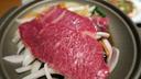 黒毛和牛のすき焼き