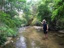 仁川河原で遊ぶ