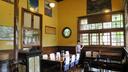 駅舎のカフェスペース