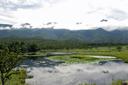 一の湖と知床連山