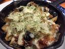 トリッパとペンネと茄子のグラタン トリッパが柔らかくて最高に美味かった