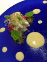 緑のイクラ様のものがヤマメの卵 初めて食べた