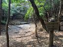 キレットルートの途中にあるイノシシ池