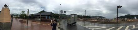 女川駅前の復興施設群