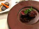 朽木産鹿肉のグリエ りんごソース
