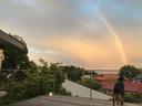 家に帰ると虹