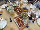並んだ美味しい料理の数々