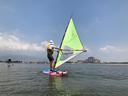 人生初のウィンドサーフィン