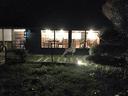 夜の無鹿リゾート