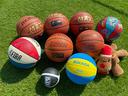 いつの間にやら数が増えたボールに空気を補充