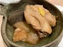 聖護院大根と鶏の煮